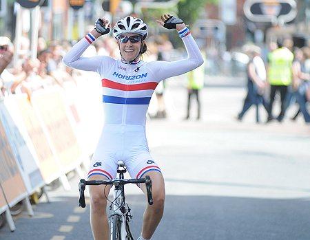 Dani King wins in Stoke