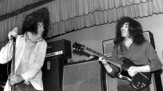 Ozzy Osbourne and Tony Iommi performing live as Earth, 1968