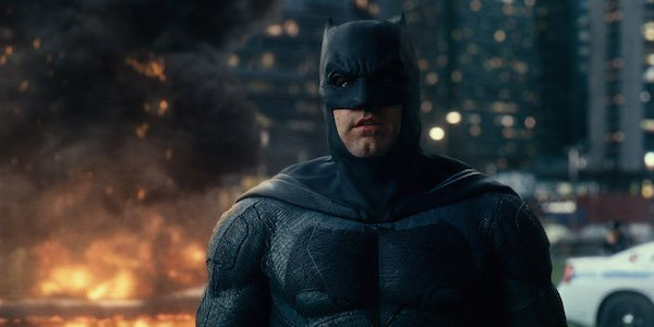 Ben Affleck in Batman suit in Justice League
