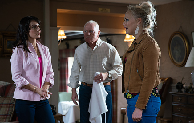 Emmerdale spoilers! Former friends Leyla Harding and Tracy Shankley have a CATFIGHT