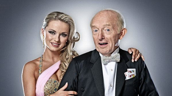 Ola Jordan and Paul Daniels on Strictly Come Dancing 2010