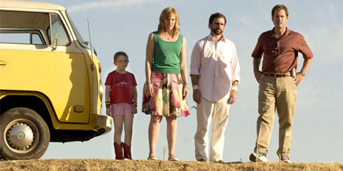 Steve Carell in Little Miss Sunshine