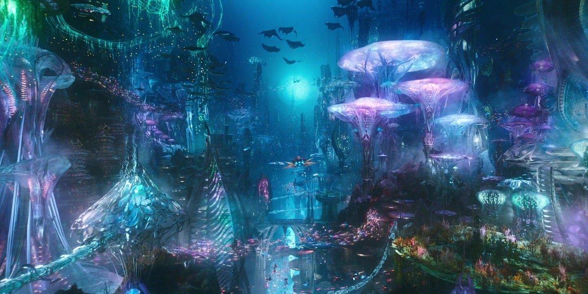 Aquaman movie Atlantis