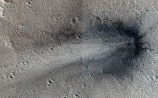 New Impact Crater in Elysium Planitia