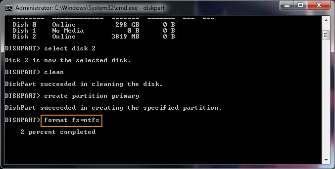How To Format A Hard Drive Using The Command Prompt Tom S Hardware