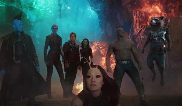 Guardians of the Galaxy Vol 2 Team Shot