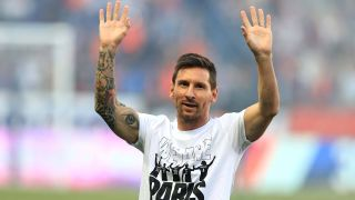 Reims vs Paris Saint Germain live stream — Lionel Messi of Paris Saint Germain