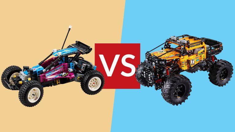 Lego Technic Off-Road Buggy vs Lego Technic 4X4 X-treme Off-Roader