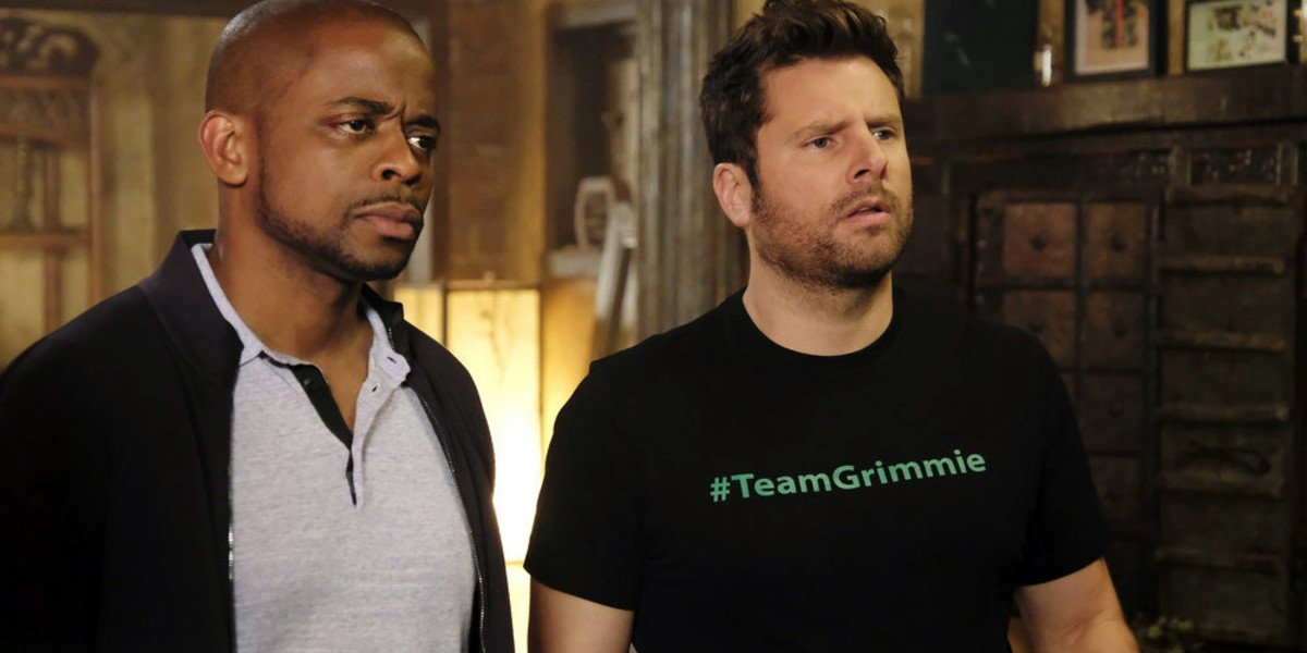 Dule Hill, James Roday Rodriguez - Psych: The Movie