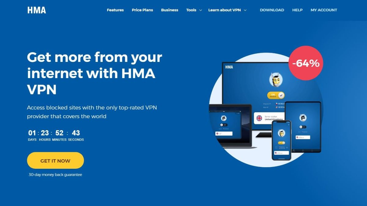 HMA VPN 5.0 adds new locations and enhanced privacy options