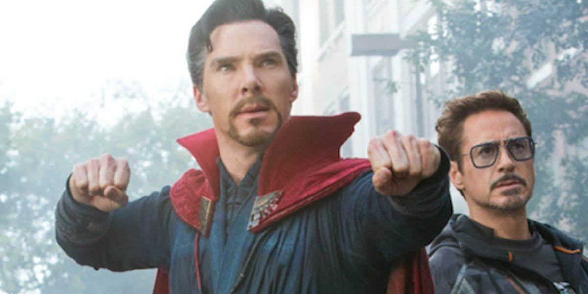 Benedict Cumberbatch, Robert Downey Jr. - Avengers: Infinity War
