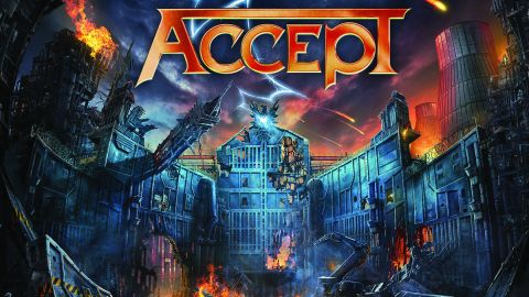 Cover art for Accept - The Rise Of Chaos album