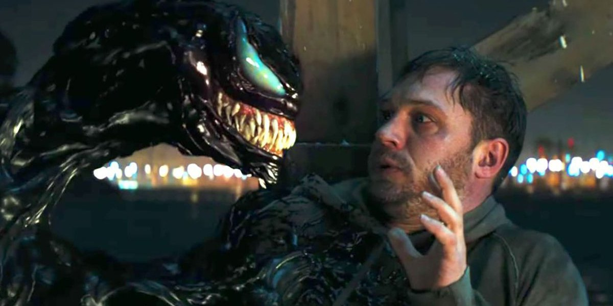 Venom and Eddie Brock have a chat