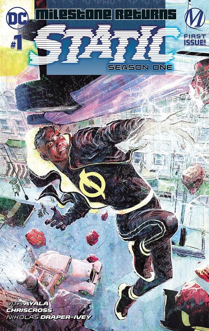 Estática: portada variante de la primera temporada n. ° 1