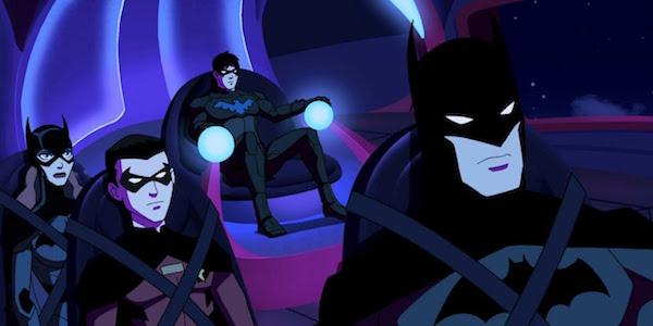 Batman Robin Batgirl Nightwing