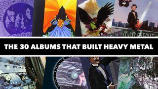 montage of album art