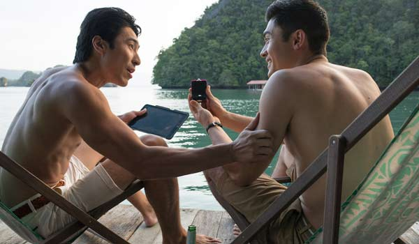 Bachelor Party In Crazy Rich Asians