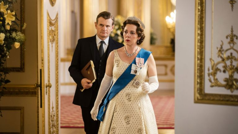Queen Elizabeth in The Crown played by Olivia Colman