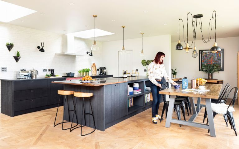 After buying a period farmhouse, Anna Bennett and Rob Stannard created a kitchen that worked for them – but it meant moving it to a new location