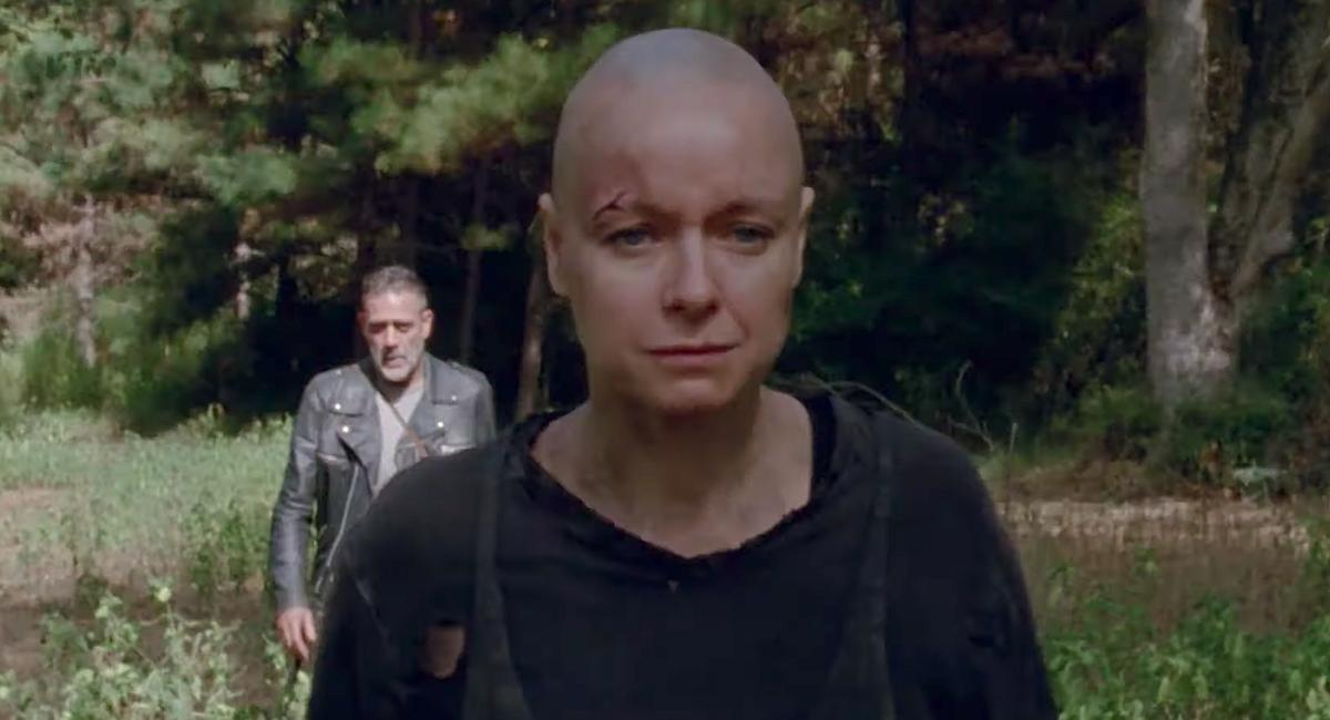 negan following alpha the walking dead season 10