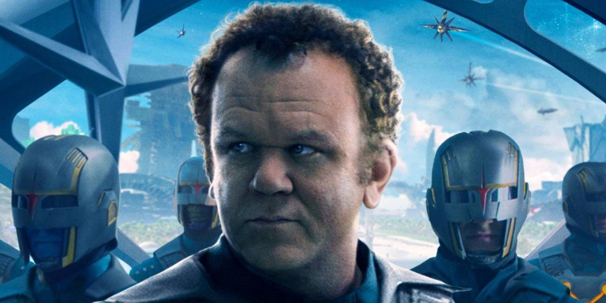 John C. Reilly Guardians of the Galaxy Poster