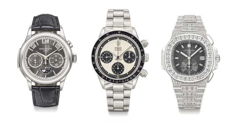 e51d0a61365 Rolex and Patek are the stars of Christie s Rare Watch Auction