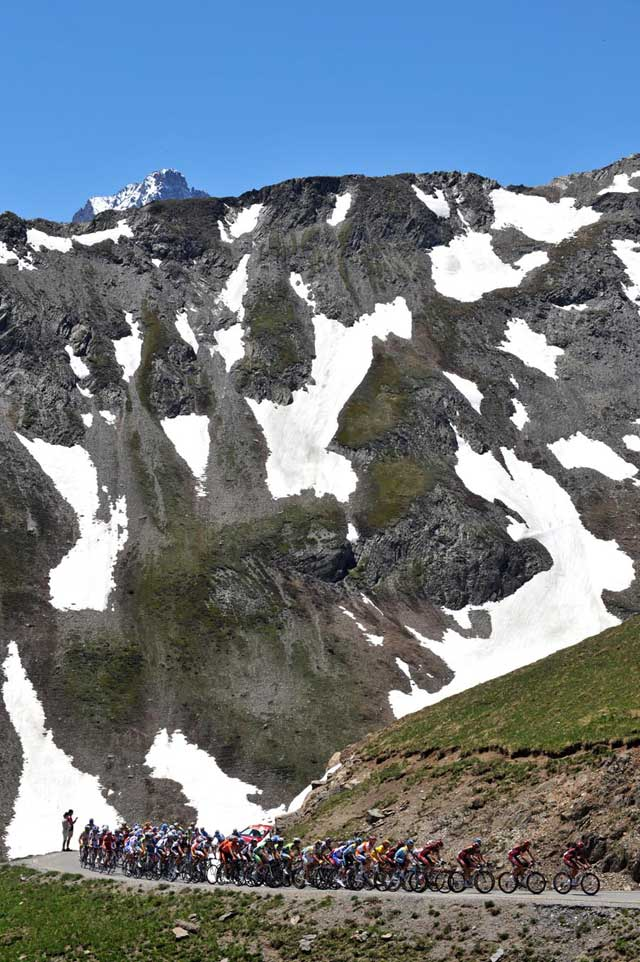 Galibier Dauphine Libere 2009 stage 7