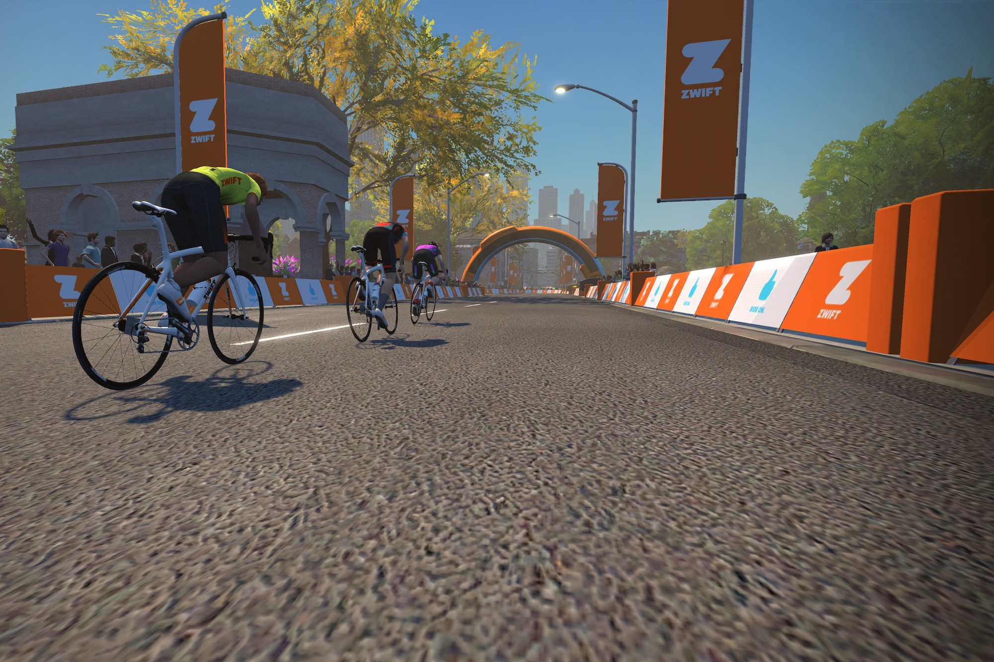 Zwift launches Crit City map exclusively for racing