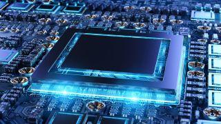 Generic GPU chip render RTX 3080 Ti