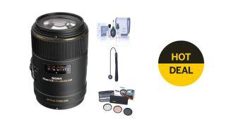 Save $500 on this Sigma 105mm f/2.8 Macro Lens bundle