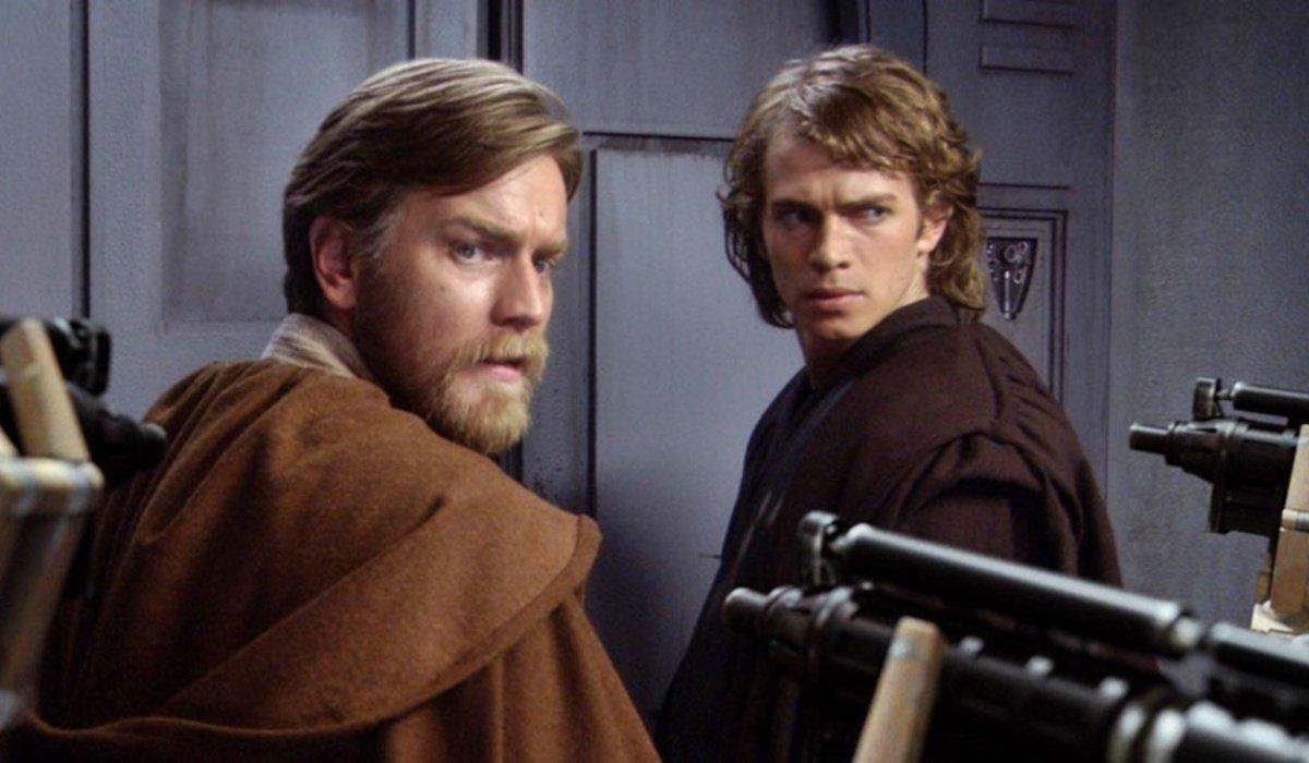 star wars revenge of the sith obi wan and anakin droids
