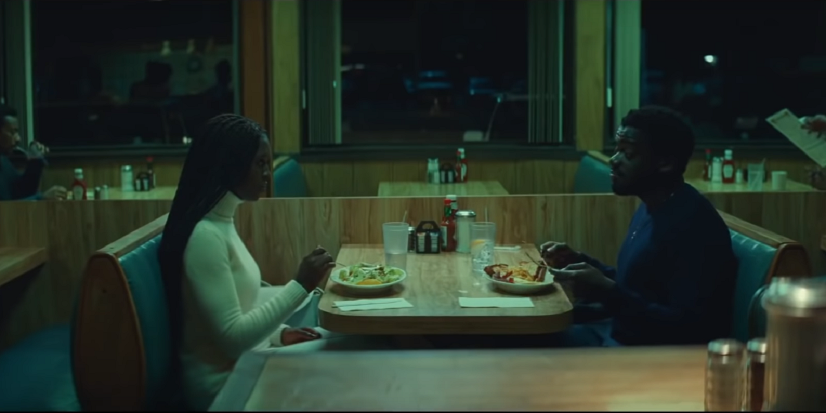 Daniel Kaluuya and Jodie Smith-Turner in Queen and Slim
