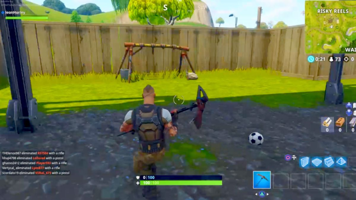 Fortnite Week 7 Challenge Score A Goal On Different