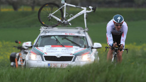 Charly Wegelius, Tour de Romandie 2010, stage 3 ITT