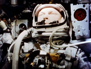 Astronaut John Glenn became the first American in orbit on Feb. 20, 1962.
