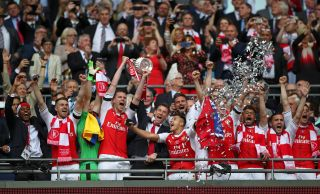 Arsenal FA Cup win