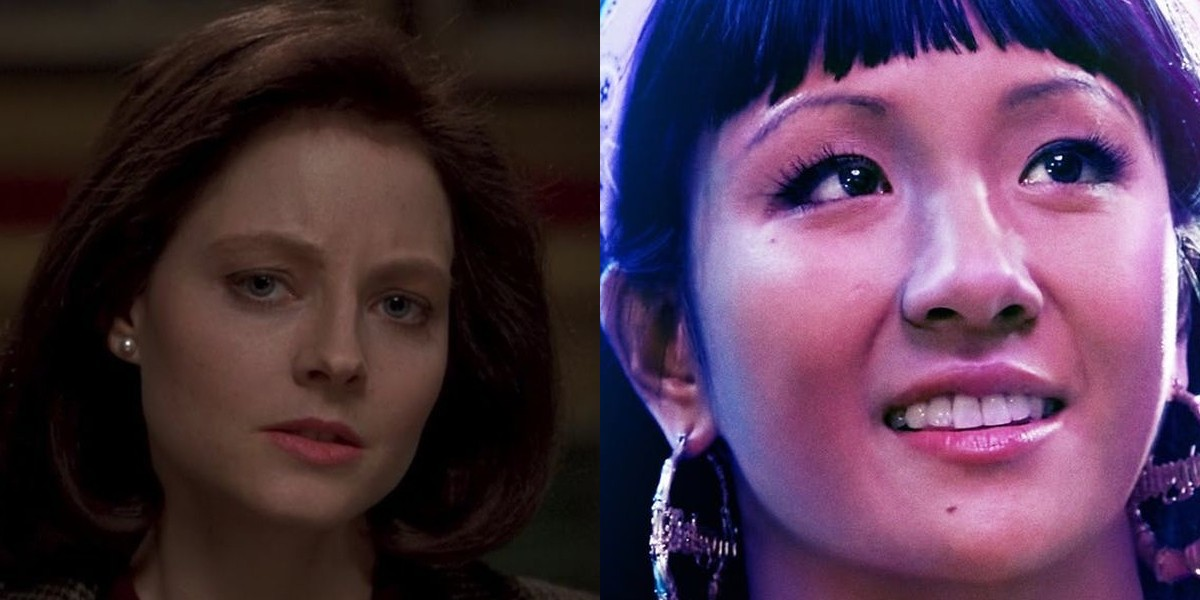 Jodie Foster on the left, Constance Wu on the right