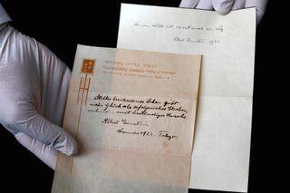 Einstein happiness letters