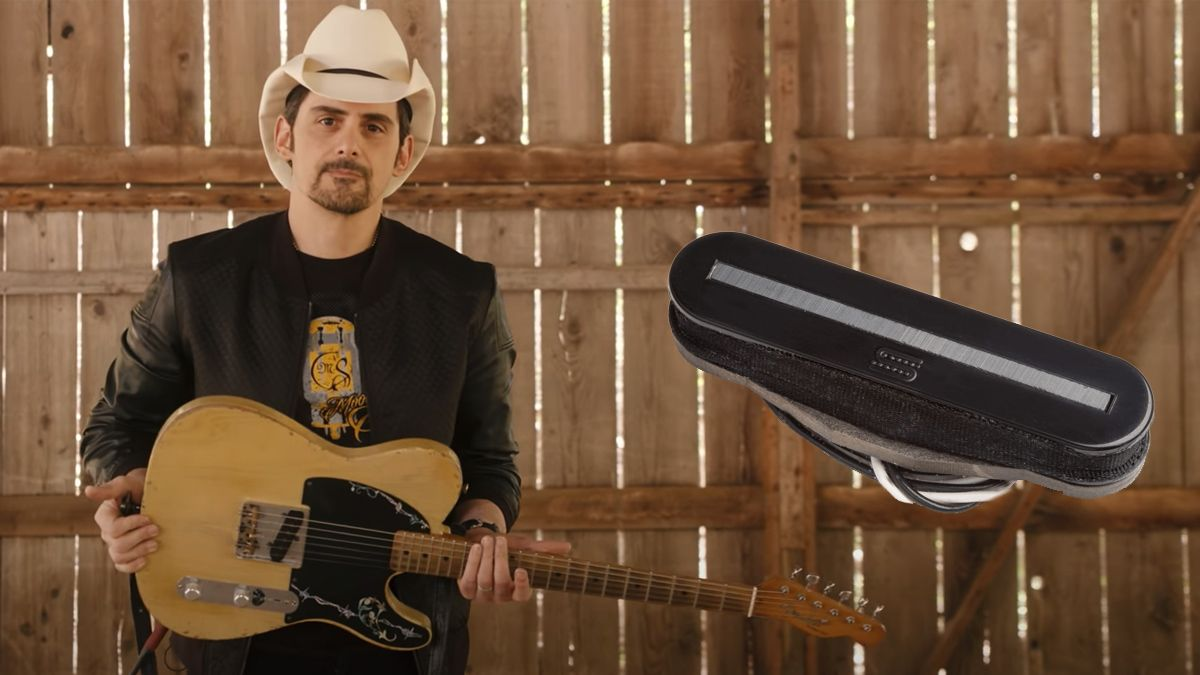 Brad Paisley seeks to settle the Telecaster vs Esquire debate with new Seymour Duncan Secret Agent pickup
