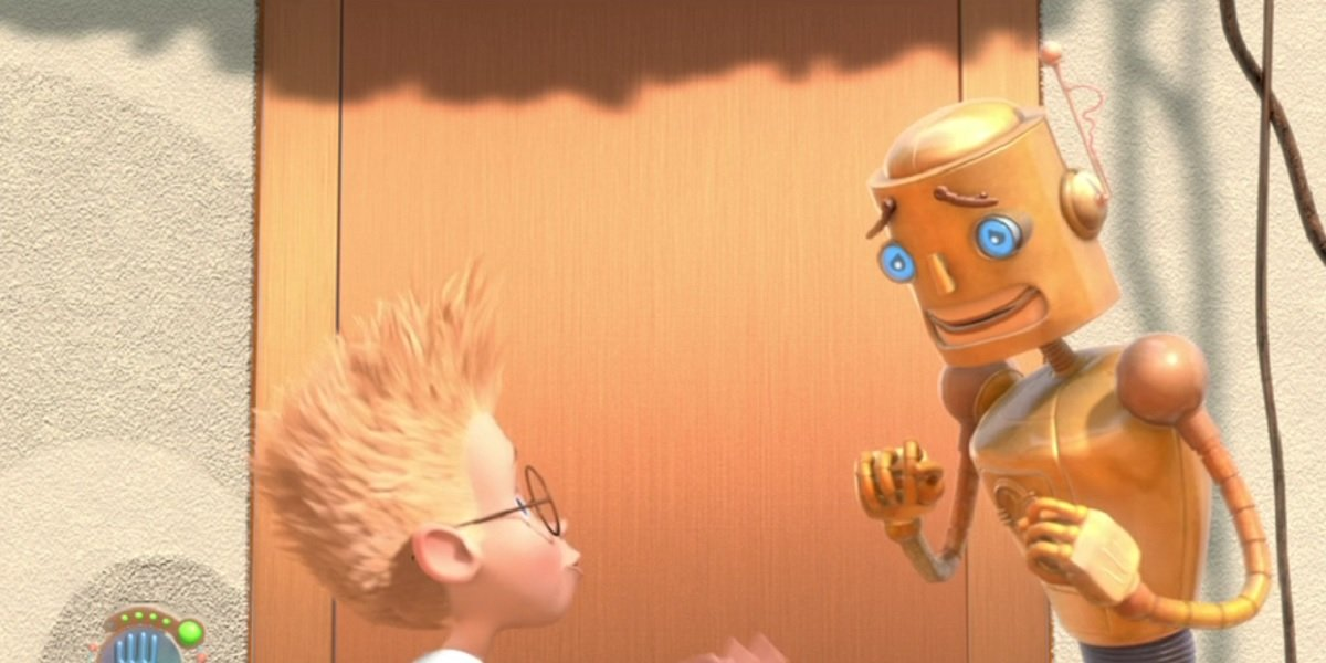 A still from Meet the Robinsons