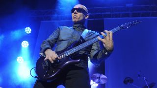 Joe Satriani performs at City Hall on November 4, 2015 in Sheffield, England