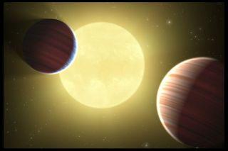 Kepler-9 Ilustration
