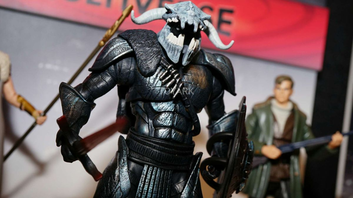 Here's your first look at Wonder Woman villain Ares (who may