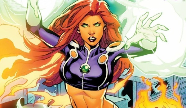 dc comics starfire