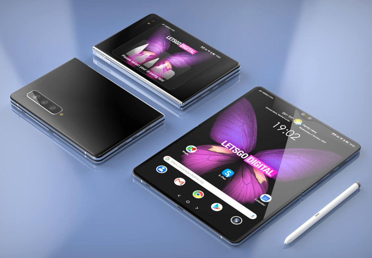 Galaxy Z Fold could be the Galaxy Fold 2 with S Pen