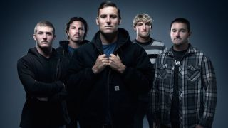 Line up photo of Australian metalcore band Parkway Drive