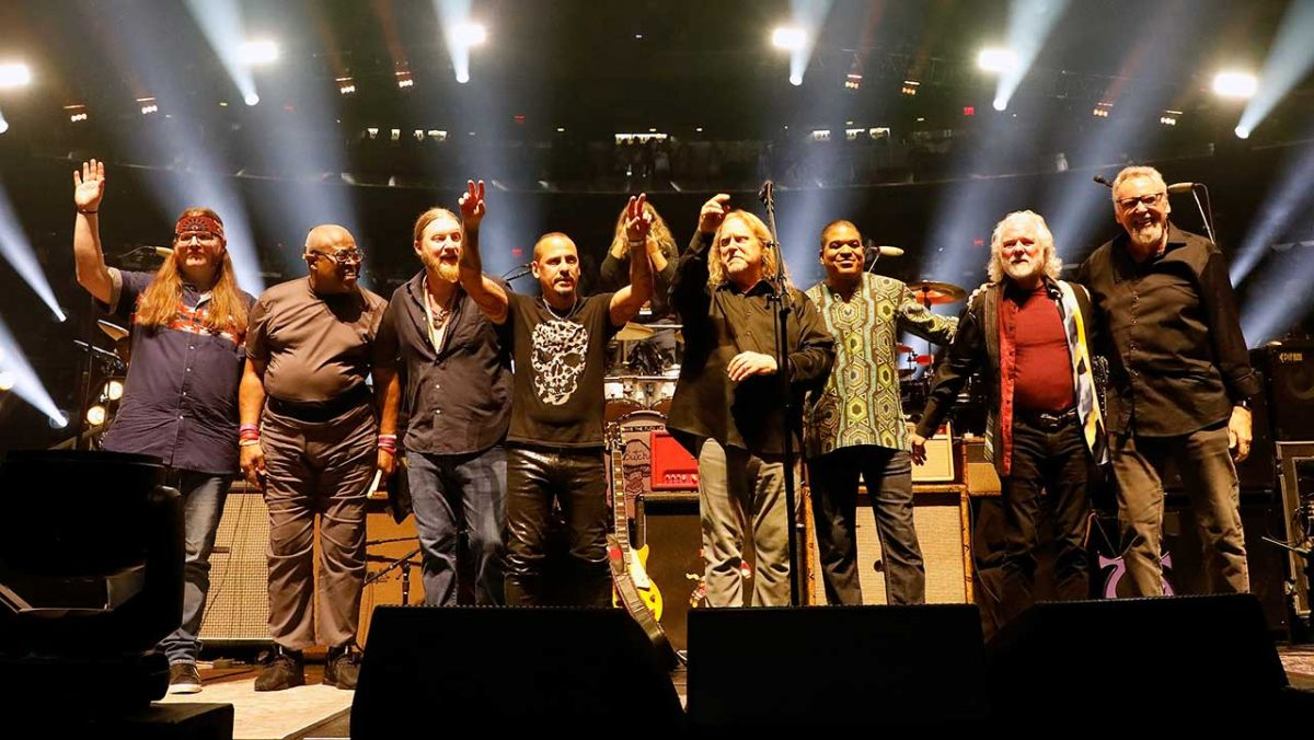 The Brothers celebrate 50 years of The Allmans with epic setlist