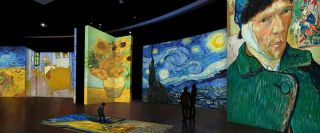 Van Gogh Alive at the Dalí Museum invites viewers to a larger-than-life, multi-sensory art experience.