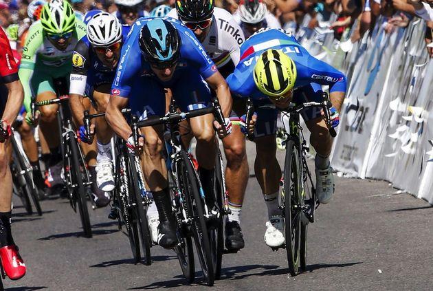Jakub Mareczko wins Stage 7 of the 2016 Tour de San Luis