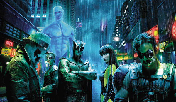 Live action Watchmen cast
